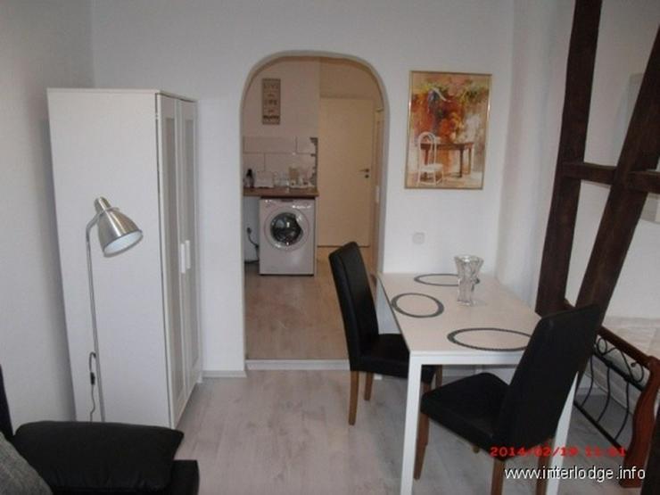 Bild 5: INTERLODGE Essen-Innenstadt: Komplett möbliertes City-Apartment mit Balkon.
