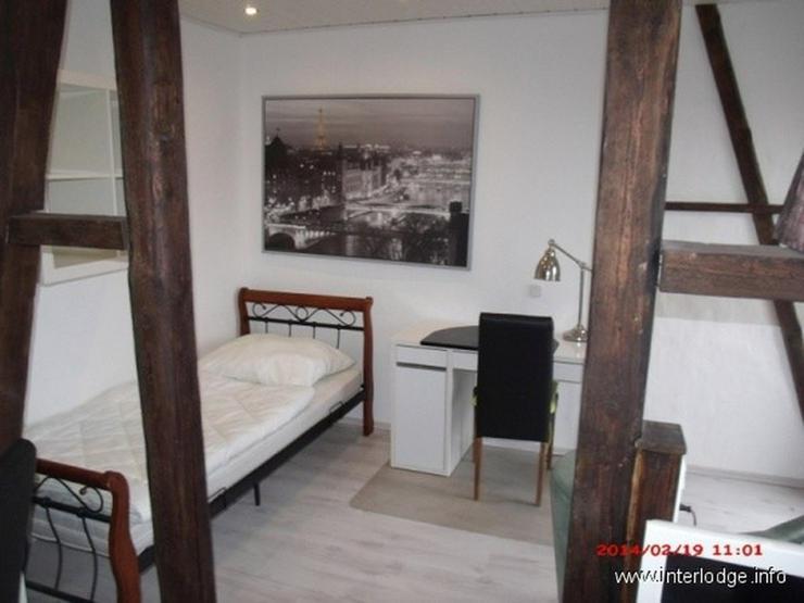 Bild 4: INTERLODGE Essen-Innenstadt: Komplett möbliertes City-Apartment mit Balkon.
