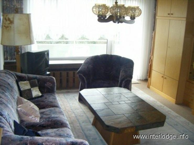 INTERLODGE Möbliertes Apartment mit großem Süd-Balkon in Essen-Frohnhausen, direkte Par... - Wohnen auf Zeit - Bild 1