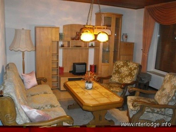 Bild 2: INTERLODGE Schöne möblierte Wohnung mit eigenem Eingang und Terrasse in Gelsenkirchen-Sc...