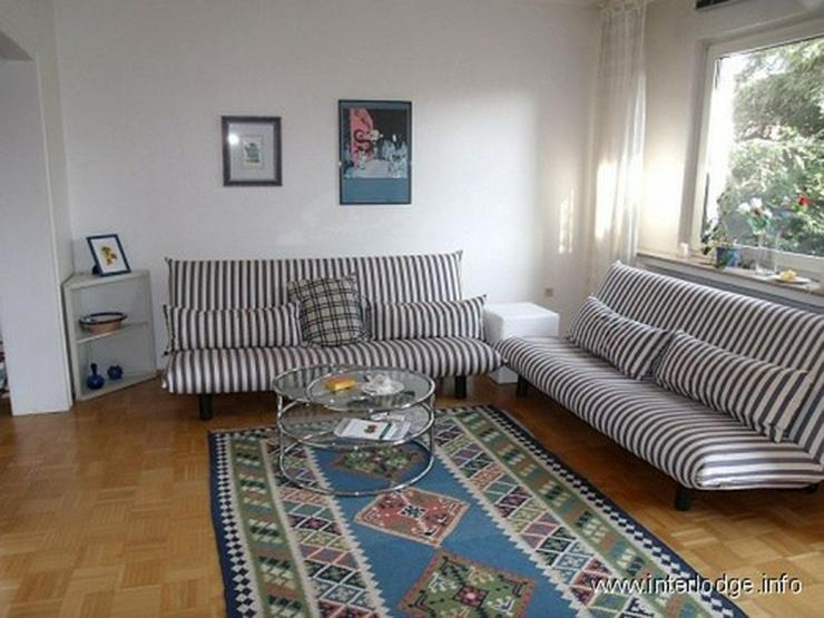 INTERLODGE Modern, hochwertig, komplett möblierte City-Wohnung mit Balkon in der Bochumer... - Wohnen auf Zeit - Bild 1