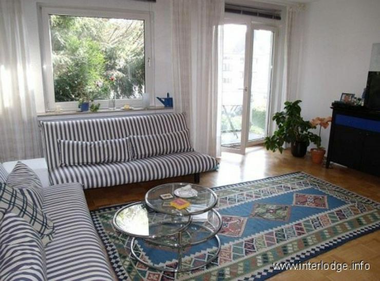 Bild 2: INTERLODGE Modern, hochwertig, komplett möblierte City-Wohnung mit Balkon in der Bochumer...