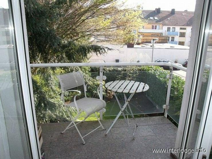Bild 3: INTERLODGE Modern, hochwertig, komplett möblierte City-Wohnung mit Balkon in der Bochumer...