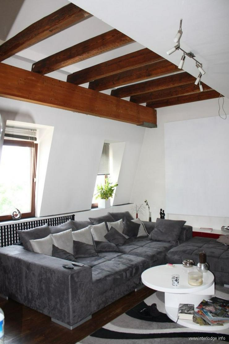 INTERLODGE Modern und stylish möblierte Wohnung, über 2 Ebenen, mit Balkon in Köln-Mül... - Bild 1