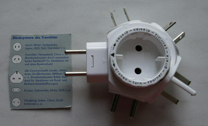 Stromstecker Travelstar 5 in 1 - Kabel & Stecker - Bild 1
