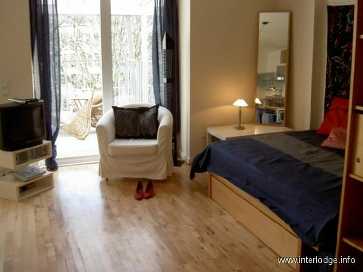 INTERLODGE Modern möbliertes Top-Apartment mit 2 Terrassen und Garten in Düsseldorf-Pemp... - Bild 1