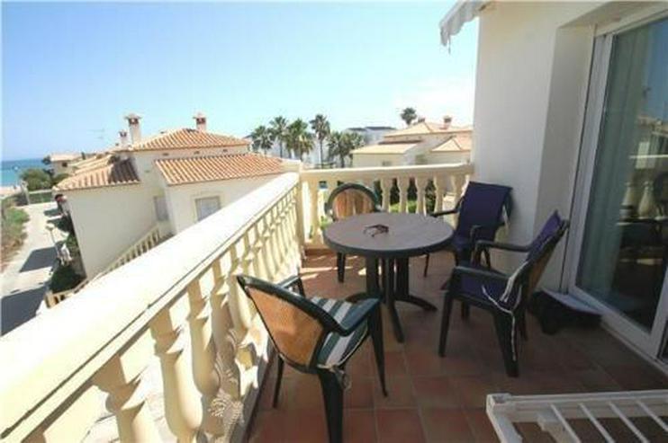 Bild 3: Gepflegtes Appartement mit Gemeinschaftspool in Denia Les Deveses, nur 20 m vom Strand ent...