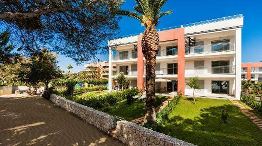 Bild 2: Wunderschöne Erdgeschoss-Appartements in einer Anlage in erster Linie am Strand