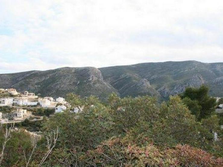 Bild 4: Grundstück mit phantastischem Meerblick in Pedreguer