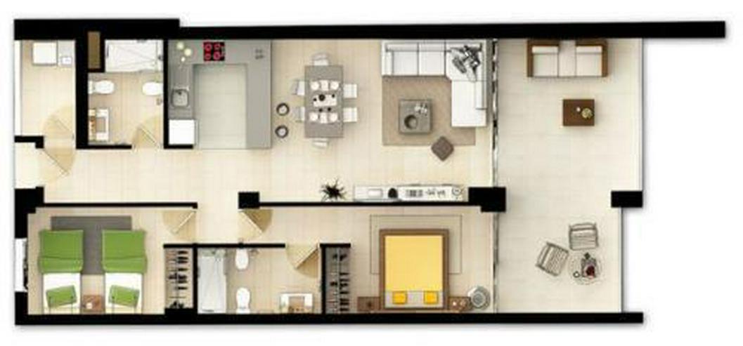 Bild 18: Exklusive 3-Zimmer-Wohnungen in wunderschöner Anlage am Strand