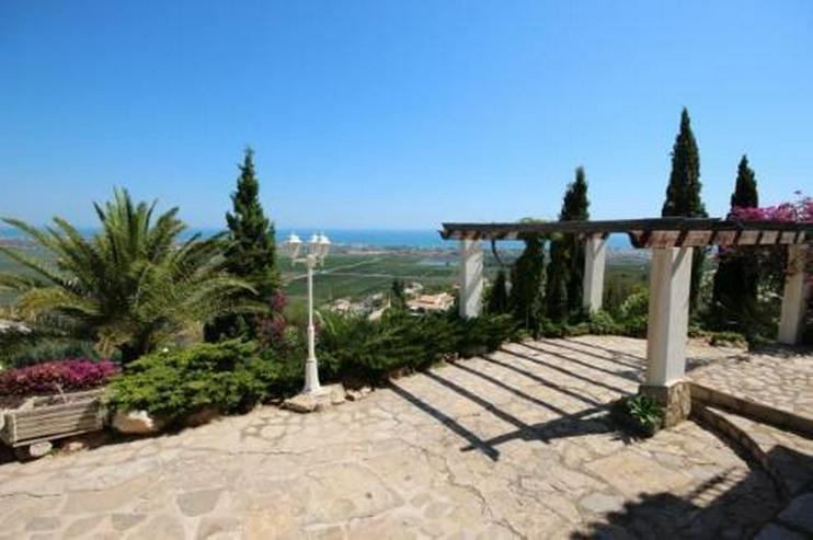 Bild 3: Großzügige Villa am Monte Pego mit Panoramablick auf Meer, Berge und die Reisfelder
