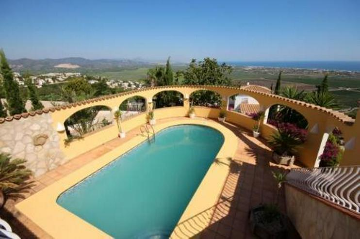 Bild 6: Großzügige Villa am Monte Pego mit Panoramablick auf Meer, Berge und die Reisfelder