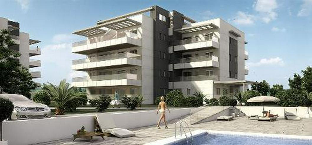 Moderne Erdgeschoss-Appartements mit Meerblick Nähe Golfplatz