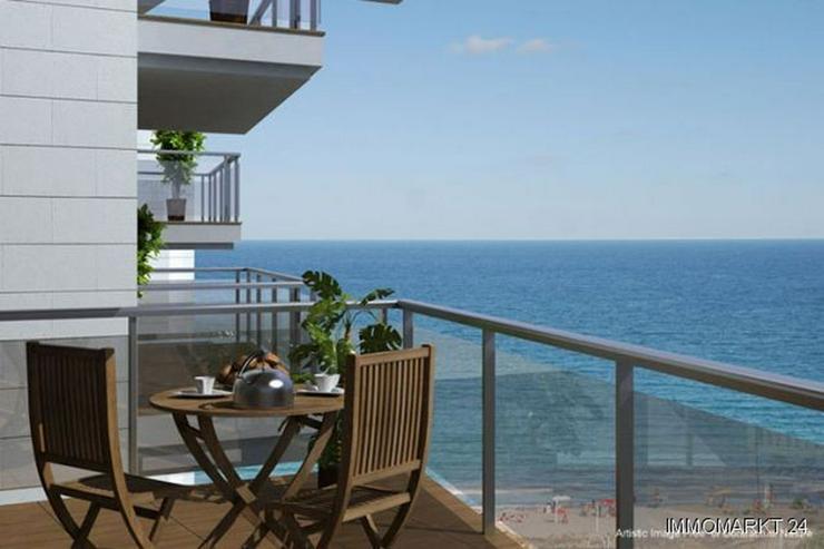 Bild 2: 4-Zimmer-Wohnungen in Anlage in 1. Linie am Strand