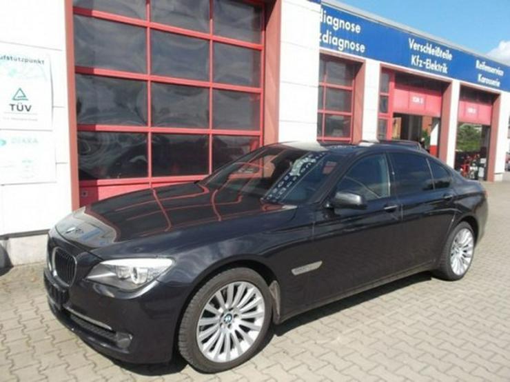 BMW 730d-49 TKM-Glasdach-Shadow Line-Dakota schwarz