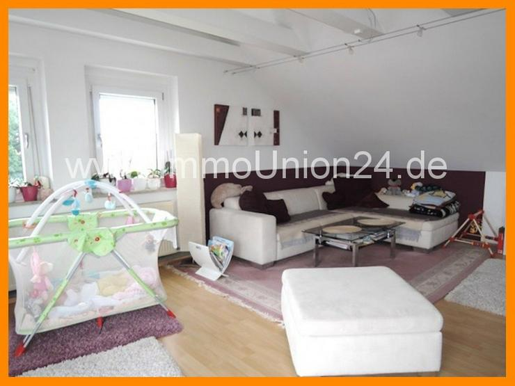 Bild 4: 8 8 qm DACH- TERRASSEN Wohnung + panoramaverglastes Wohnzimmer + LAMINAT + GARAGE + SOFORT...