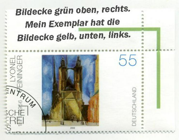 Euro-Sondermarke 2002(Lyonel Feininger)