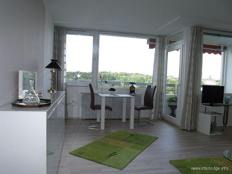 Bild 3: INTERLODGE Über den Dächern von Essen: Mod. möbl. Apartment im 10. OG eines gepflegten ...