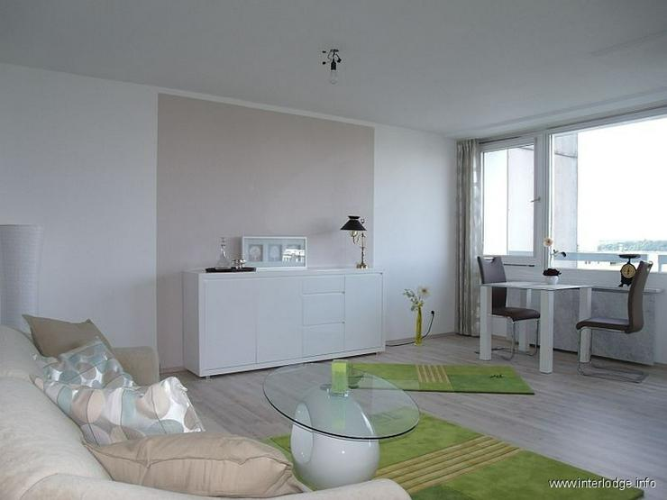Bild 4: INTERLODGE Über den Dächern von Essen: Mod. möbl. Apartment im 10. OG eines gepflegten ...
