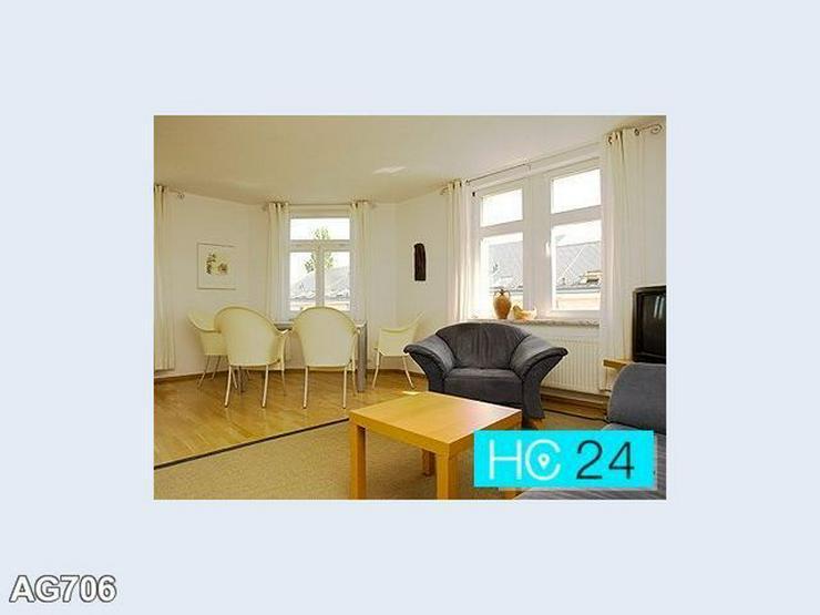 * Exklusiv möblierte Dachgeschoss-Wohnung in Leipzig + ZENTRUM-SÜD + PARKETT + INTERNET