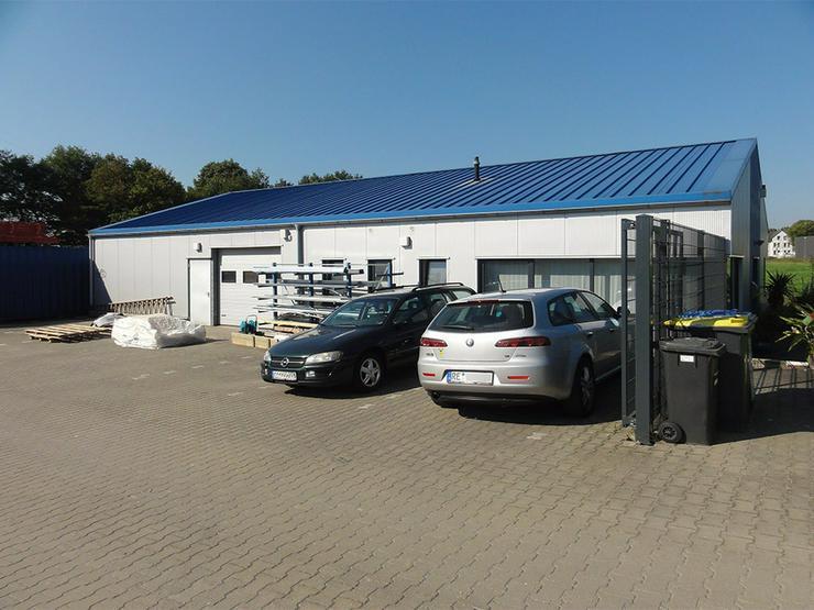 Ansprechende Gewerbehalle mit Bürotrakt in Recklinghausen-Berghausen - Gewerbepark Ortloh - Gewerbeimmobilie kaufen - Bild 1