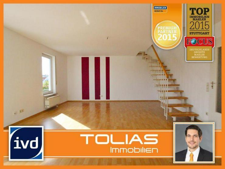 Frei ab sofort! Zentrale Maisonette-Wohnung mit Dachterrasse, 2 Balkonen, TG-Stellplatz - ... - Wohnung kaufen - Bild 1