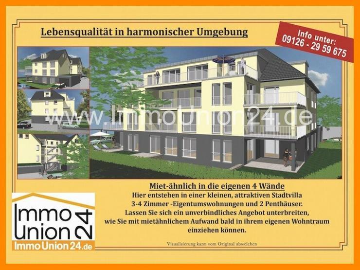 110 qm wie HAUS im HAUS + kl. SONNEN- TERRASSENBALKON + Gartennutzung inkl. EINBAUKÜCHE +... - Wohnung kaufen - Bild 1