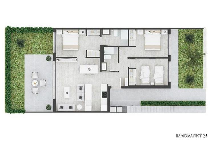 Bild 5: Komfortable Erdgeschoss-Wohnungen mit Gemeinschaftspool
