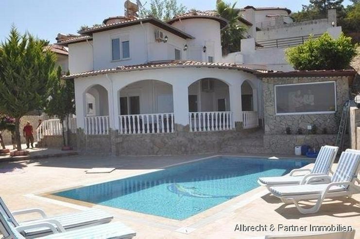 Villa in Alana/Kargicak mit Panoramablick Sauna zu Verkaufen - Haus kaufen - Bild 1