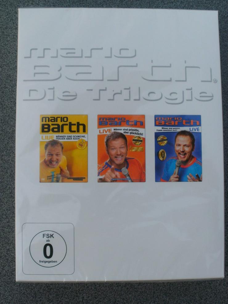 Mario Barth - Die Trilogie -  DVD-Set zvk.