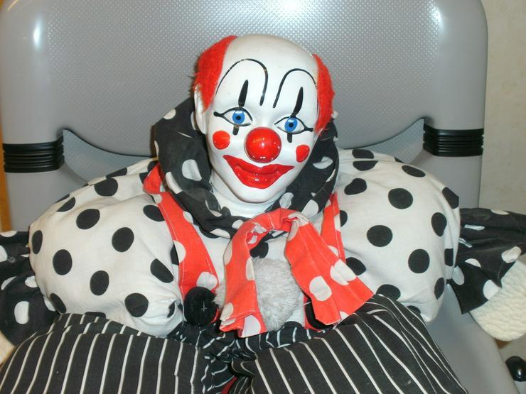 Schöner Deko-Clown (auch für Kinderherzen) zvk.