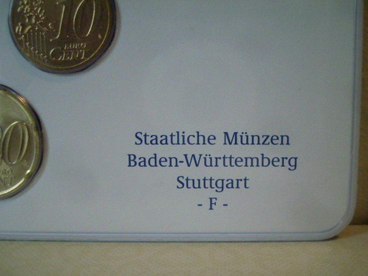 Bild 2: €-Kursmünzensätze 2003 Dtschl. D,F,G,J -st