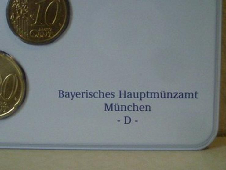 Bild 3: €-Kursmünzensätze 2003 Dtschl. D,F,G,J -st
