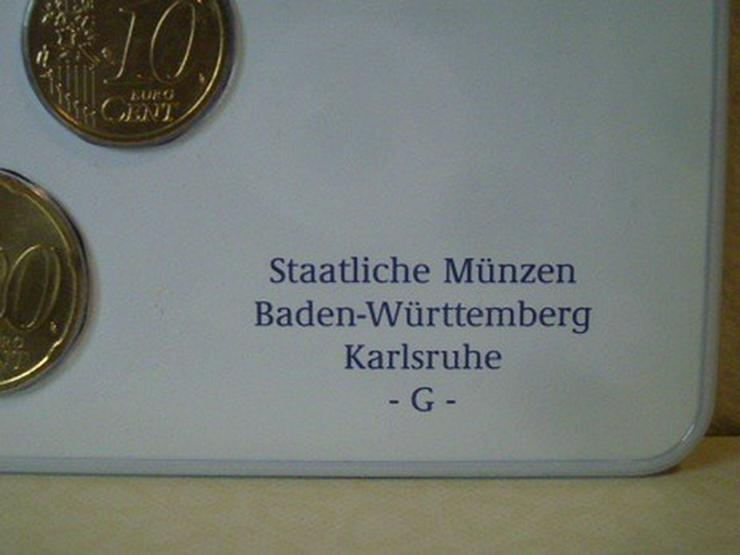 Bild 4: €-Kursmünzensätze 2003 Dtschl. D,F,G,J -st