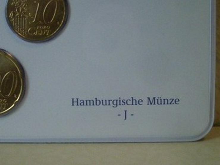 Bild 5: €-Kursmünzensätze 2003 Dtschl. D,F,G,J -st