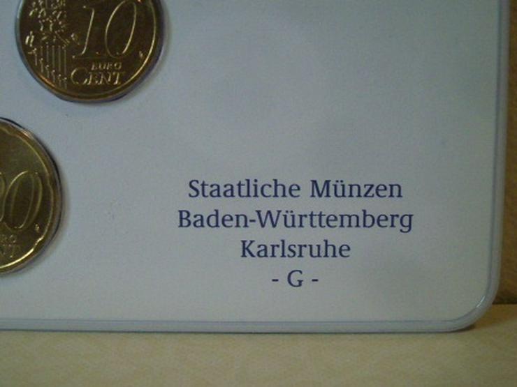 Bild 4: €-Kursmünzensätze 2003 Dtschl. D,F,G,J stgl.