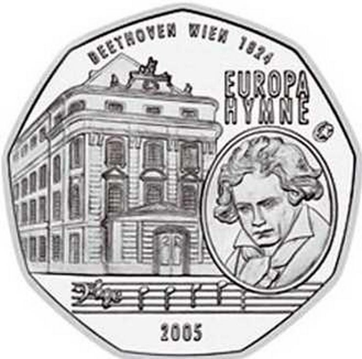 5 € Silber-Münze 2005 Österreich prägefrisch