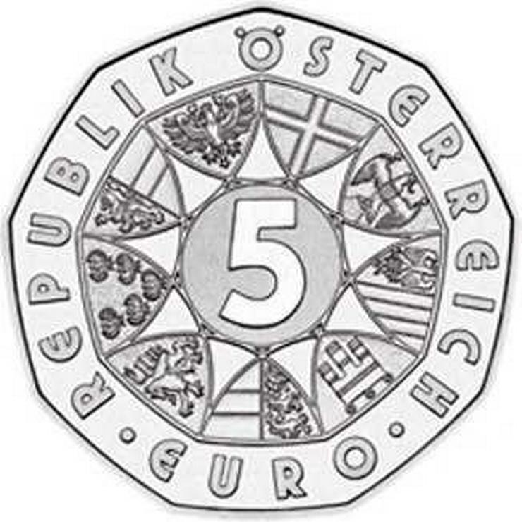 Bild 2: 5 € Silber-Münze 2005 Österreich pr.frisch