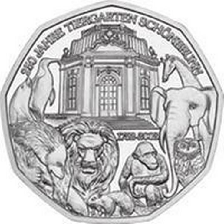 5 € Silber-Münze 2002 Österreich pr.frisch