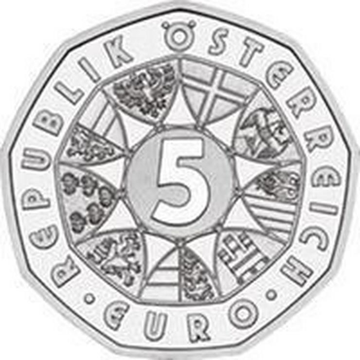 Bild 2: 5 € Silber-Münze 2002 Österreich pr.frisch