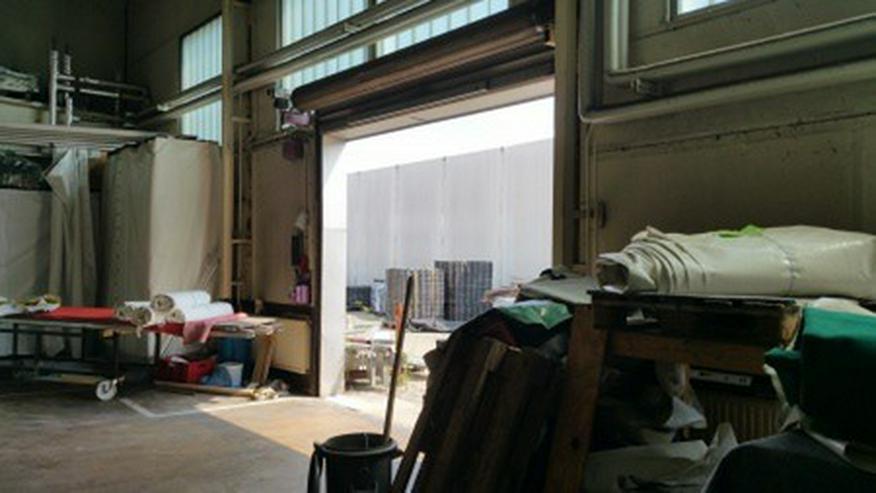 Bild 2: Gewerbehalle für Lager und Produktion mit großem Außengelände