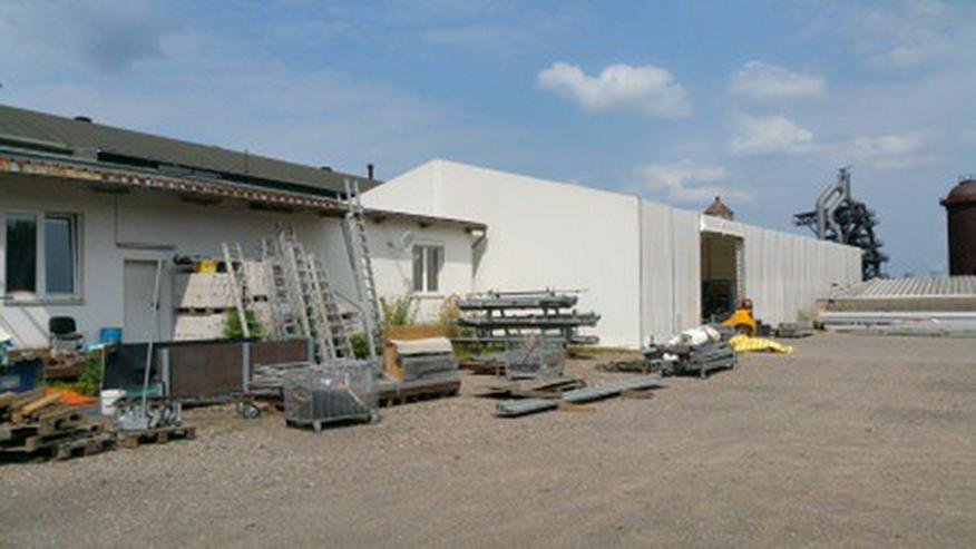 Bild 6: Gewerbehalle für Lager und Produktion mit großem Außengelände