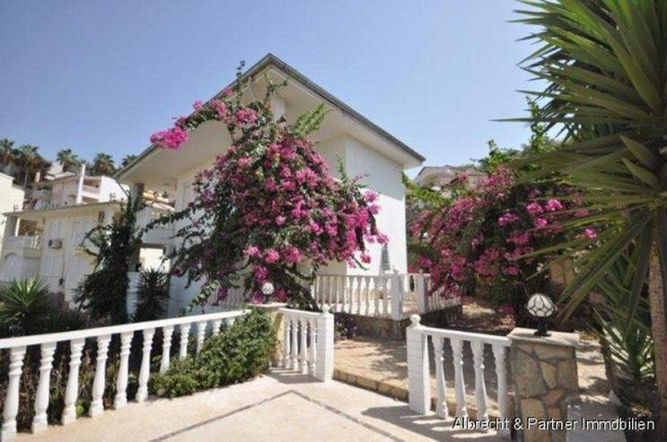 Möbelierte Villa (Doppelhaushälfte) in Kargicak/Alanya zu verkaufen - Haus kaufen - Bild 1