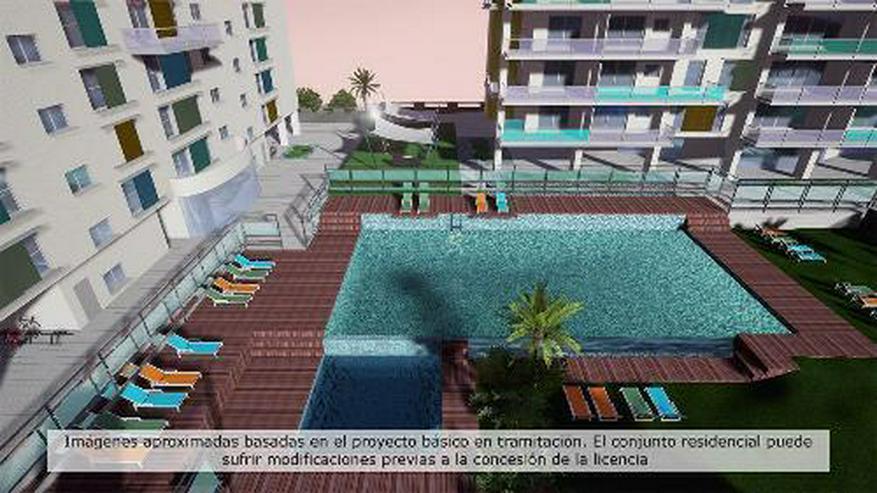 Moderne 3-Zimmer-Appartements in Strandnähe in San Juan