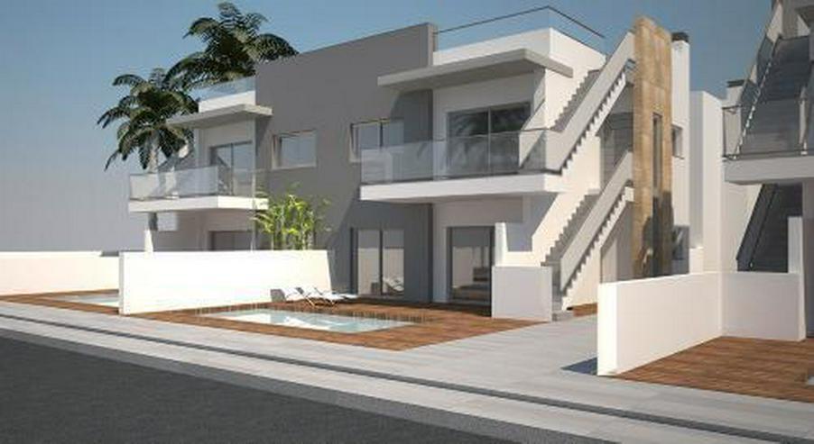 Exklusive 4-Zimmer-Erdgeschoss-Wohnungen mit Gemeinschaftspool - Wohnung kaufen - Bild 1