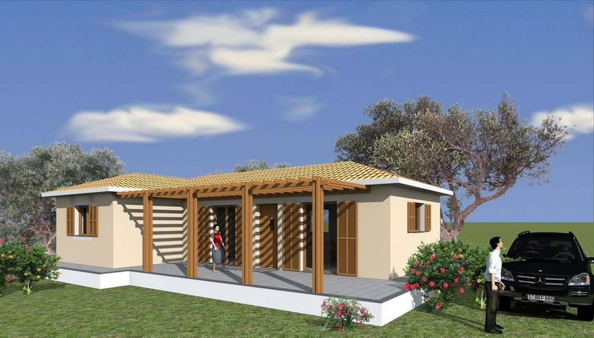 Neubau auf Peloponnese