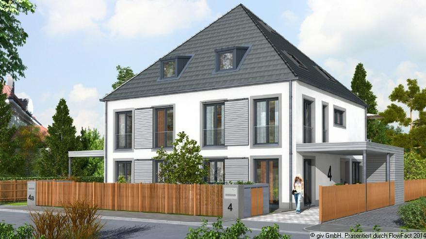 Neubau-Doppelhaushälfte in ruhiger Lage Waldperlachs / Bezug: 2016 - Haus kaufen - Bild 1