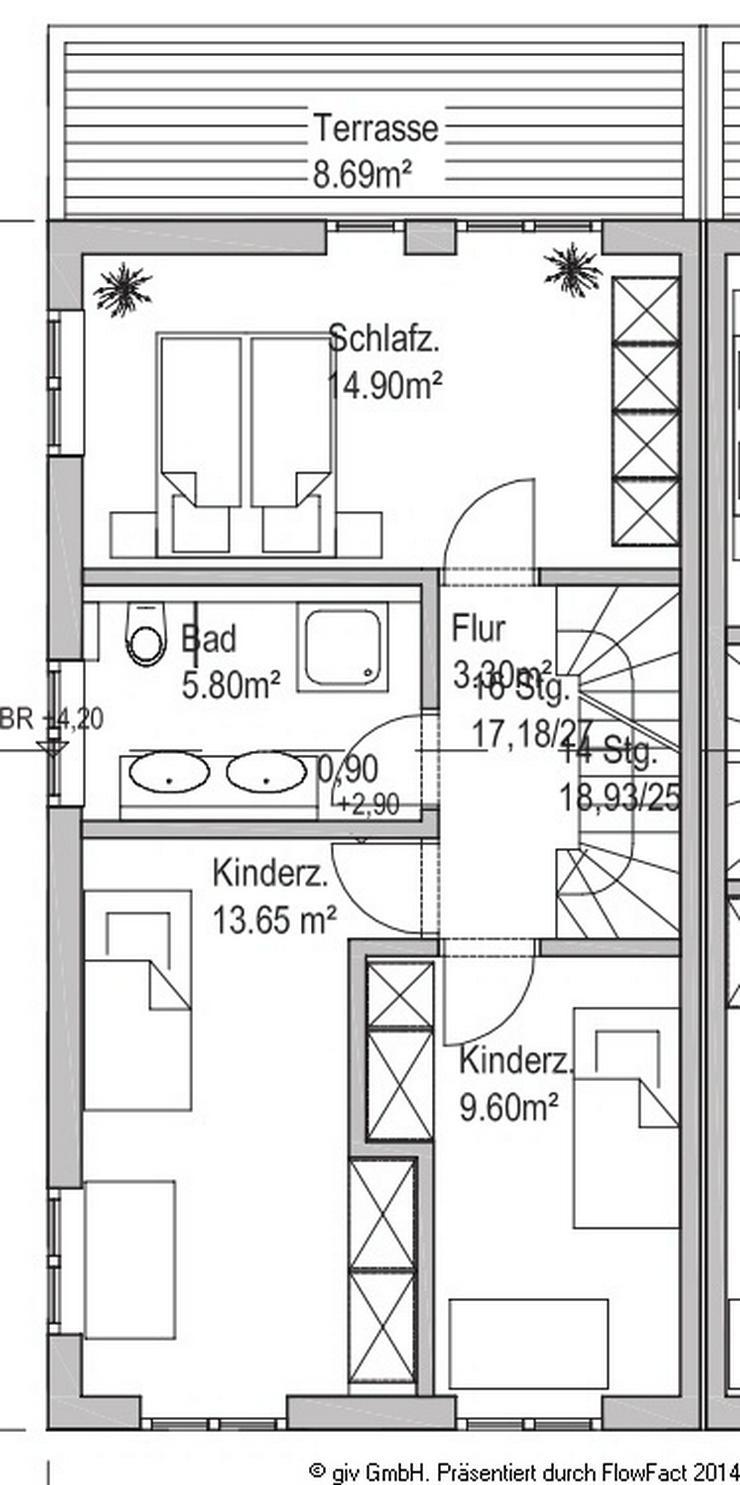 Bild 6: Neubau-Doppelhaushälfte in ruhiger Lage Waldperlachs / Bezug: 2016