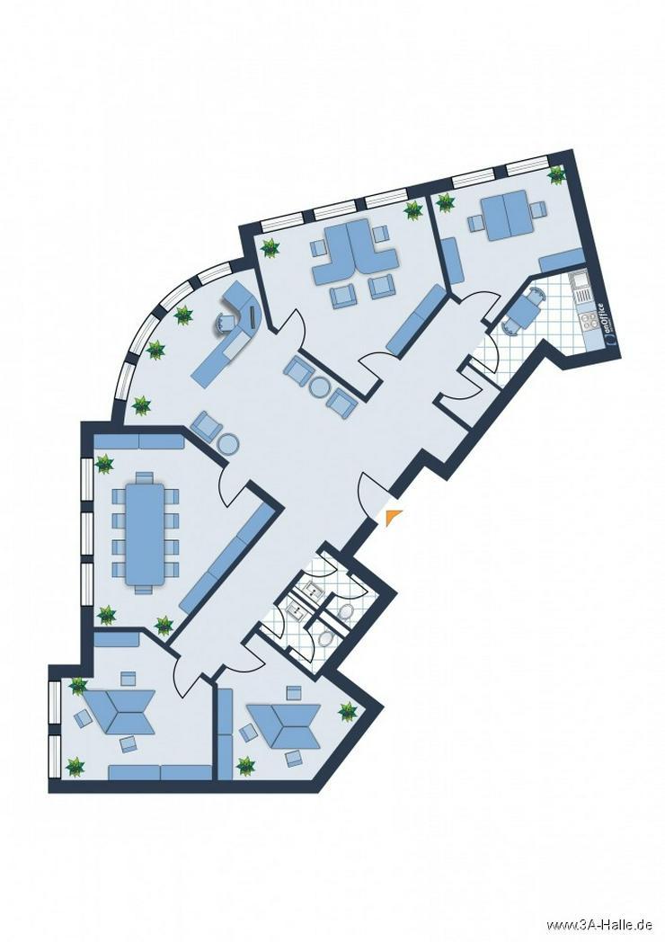 Bild 2: Bürofläche im Zentrum von Halle - Charlottenstraße