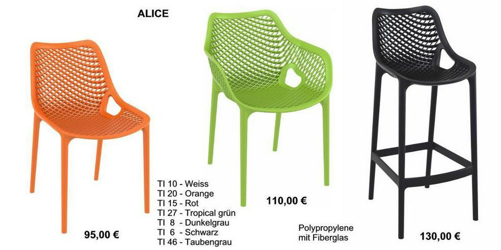 Designer Tresenhocker ALICE-SG